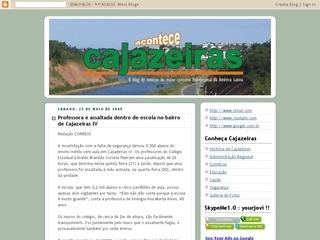 Thumbnail do site Cajazeiras Acontece