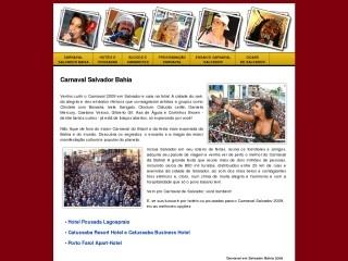 Thumbnail do site Carnaval Salvador | Pousada, Hotel, Resort Ba