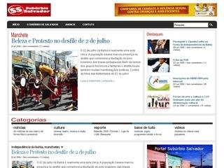 Thumbnail do site Portal Subúrbio Salvador