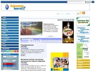 Thumbnail do site Portal Cajazeirastem!