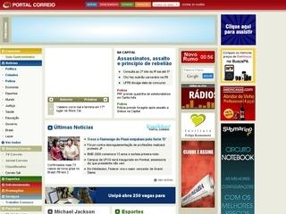 Thumbnail do site Correio da Paraíba