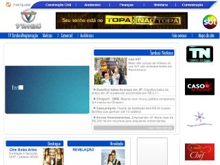 Thumbnail do site TV Tambaú