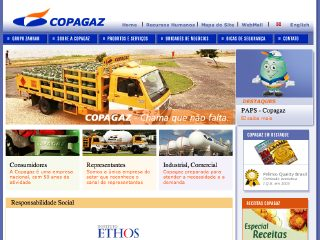 Thumbnail do site Copagaz Campo Grande