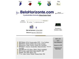 Thumbnail do site BeloHorizonte.com - O portal de Belo Horizonte