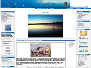 Thumbnail do site Prefeitura Municipal de Lagoa Santa