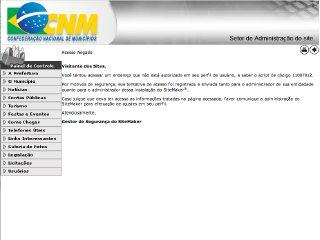 Thumbnail do site Prefeitura Municipal de Alvorada de Minas