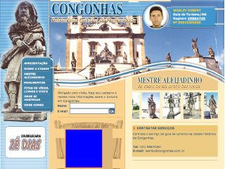 Thumbnail do site Congonhas.com.br