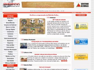 Thumbnail do site EntreRiosNews.com.br