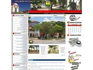 Thumbnail do site Prefeitura Municipal de São Brás do Suaçuí