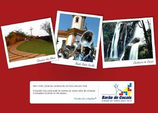 Thumbnail do site Prefeitura Municipal de  Barão de Cocais