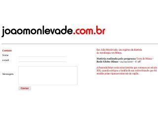 Thumbnail do site JoãoMonlevade.com.br