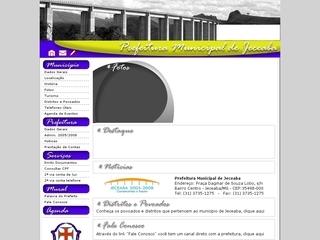Thumbnail do site Prefeitura Municipal de Jeceaba