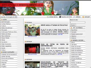 Thumbnail do site Prefeitura Municipal de Jequitibá