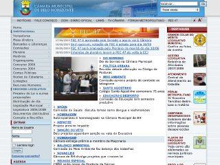 Thumbnail do site Câmara Municipal de Belo Horizonte