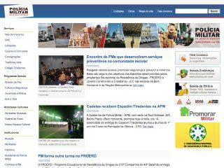 Thumbnail do site PPMG - Polícia Militar de Minas Gerais