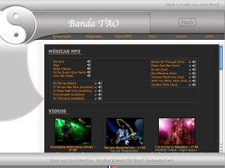 Thumbnail do site Banda TAO - Rock n Roll e Rock nacional