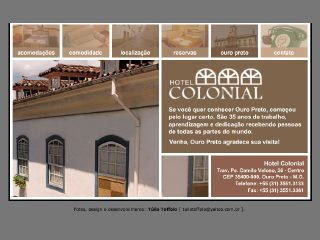 Thumbnail do site Hotel Colonial