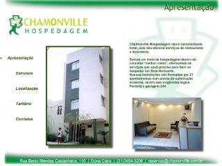 Thumbnail do site Chamonville Hospedagem