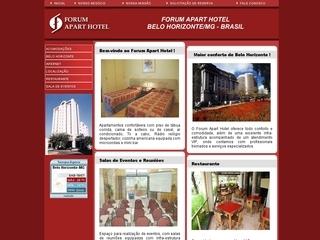Thumbnail do site Forum Apart Hotel