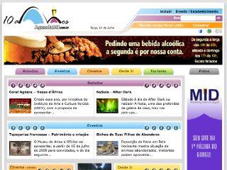 Thumbnail do site AgendaBH