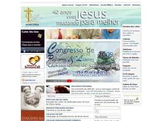 Thumbnail do site Oitava Igreja Presbiteriana de Belo Horizonte