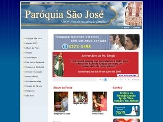 Thumbnail do site Igreja São José