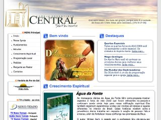 Thumbnail do site Igreja Adventista do Sétimo Dia - Belo Horizonte