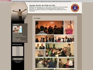 Thumbnail do site Igreja Verbo da Vida em Belo Horizonte