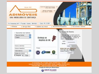 Thumbnail do site Adimóveis BH