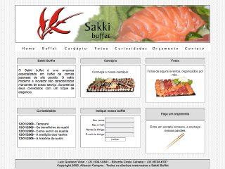 Thumbnail do site Sakki Buffet
