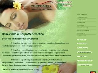 Thumbnail do site Clínica de Emagrecimento e Estética CorpoMed