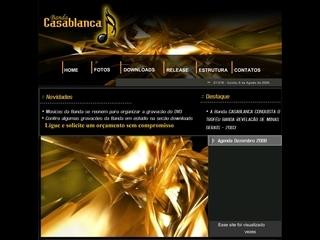Thumbnail do site Casablanca Banda Show
