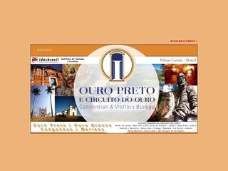 Thumbnail do site Associação Comercial, Industrial e Agropecuária de Ouro Preto