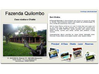 Thumbnail do site Fazenda Quilombo