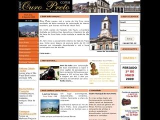 Thumbnail do site Cidade Ouro Preto