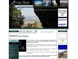 Thumbnail do site Lavras Novas - Ouro Preto