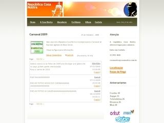 Thumbnail do site República Cosa Nostra de Ouro Preto