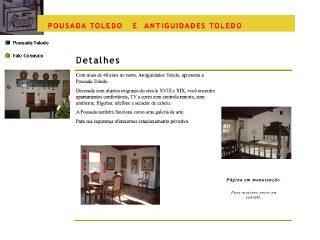 Thumbnail do site Antiguidades Toledo