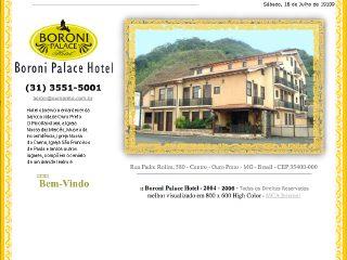 Thumbnail do site Boroni Palace Hotel