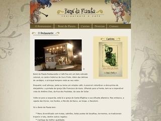 Thumbnail do site Bené da Flauta Restaurante e Café