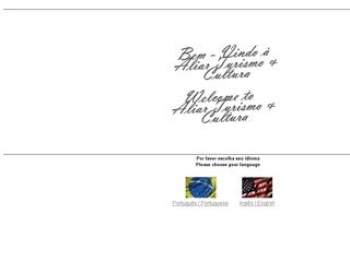 Thumbnail do site Aliar Turismo & Cultura
