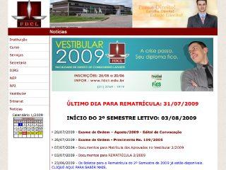 Thumbnail do site Faculdade de Direito de Conselheiro Lafaiete