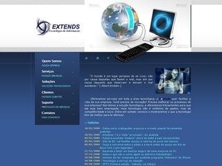 Thumbnail do site Extends Tecnologia da Informação
