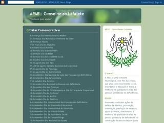 Thumbnail do site APAE - Conselheiro Lafaiete