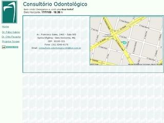 Thumbnail do site Consultório Odontológico