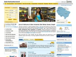 Thumbnail do site Belo-Horizonte.travel