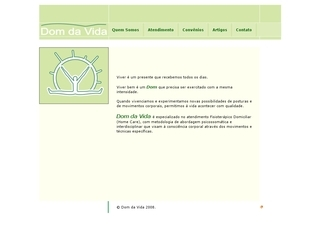 Thumbnail do site Dom da Vida Fisioterapia Domiciliar