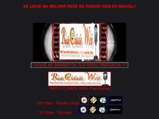 Thumbnail do site Rede Cidade Web