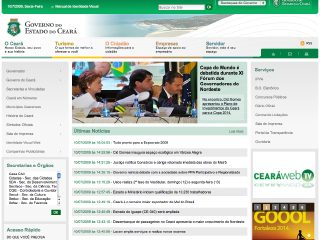 Thumbnail do site Governo do Estado de Ceará