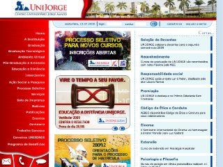 Thumbnail do site Faculdades Jorge Amado